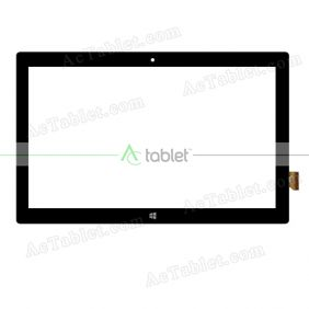 FPC-FC116J033-A-00 Digitizer Glass Touch Screen Replacement for 11.6 Inch MID Tablet PC