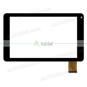 RP-539A-10.1-10630-FPC-A0 Digitizer Glass Touch Screen Replacement for 10.1 Inch MID Tablet PC