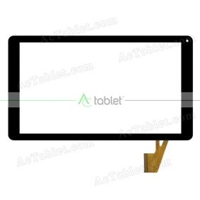 XLD1013FPC-V0 Digitizer Glass Touch Screen Replacement for 10.1 Inch MID Tablet PC