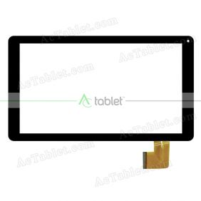 FHF10605 Digitizer Glass Touch Screen Replacement for 10.1 Inch MID Tablet PC