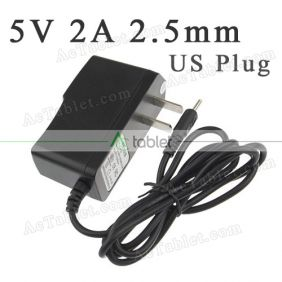 5V Power Supply Charger for RCA Voyager Pro 7 Inch Quad Core Tablet PC