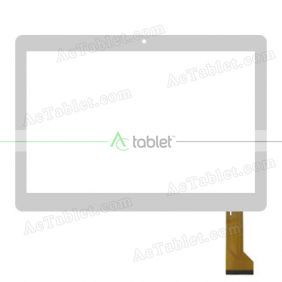 GY-10016B-FPC-2.0 Digitizer Glass Touch Screen Replacement for 10.1 Inch MID Tablet PC