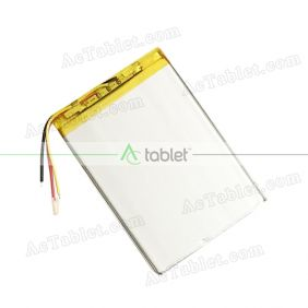 Replacement 3000mAh Battery for Digiland DL718M XMF-MID721 Quad Core 7 Inch Tablet PC