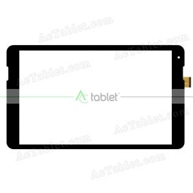 YJ446FPC-V0 Digitizer Glass Touch Screen Replacement for 10.1 Inch MID Tablet PC