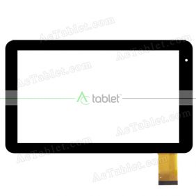 HK101PG5101B-V01 Digitizer Glass Touch Screen Replacement for 10.1 Inch MID Tablet PC