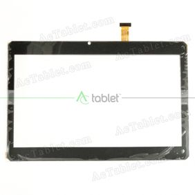 HZYCTP-101789-Lee Digitizer Glass Touch Screen Replacement for 10.1 Inch MID Tablet PC