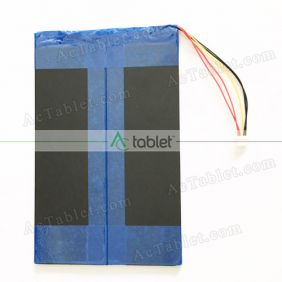 Replacement Battery for Azpen G1058H Quad Core 10.1 Inch Tablet PC