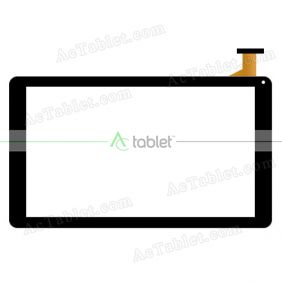 Replacement Touch Screen for Sunstech TAB109QC Quad Core 10.1 Inch Tablet PC