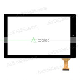 Digitizer Touch Screen Replacement for RCA Atlas 10 RCT6B03W13 10.1 Inch Tablet PC