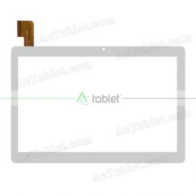 MJK-1079-FPC/2018.06 FLT Digitizer Glass Touch Screen Replacement for 10.1 Inch MID Tablet PC