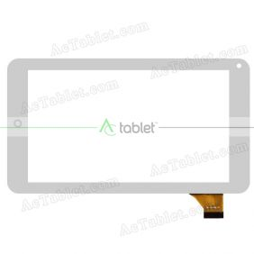 Digitizer Touch Screen Replacement for Ecvilla Kmax A7i Quad Core Tablet PC