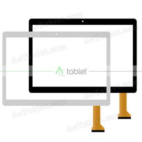 Digitizer Touch Screen Replacement for Fusion5 4G Tablet F105D 9.6 Inch Quad Core Tablet PC