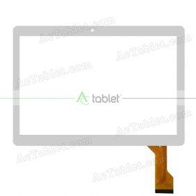 MJK-0591-FPC/2018.06 Digitizer Glass Touch Screen Replacement for 10.1 Inch MID Tablet PC