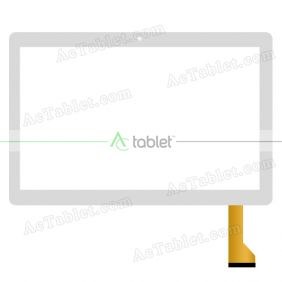 GT10PG233 Digitizer Glass Touch Screen Replacement for 10.1 Inch MID Tablet PC
