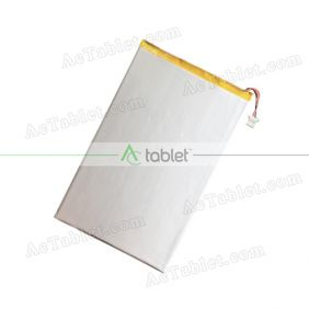 "Replacement 3000mAh Battery for RCA RCT6077W2 7"" 4GB Tablet PC"
