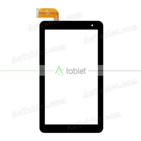 Digitizer Touch Screen Replacement for PendoPad PNDP70M7BLK 7 Inch Tablet PC