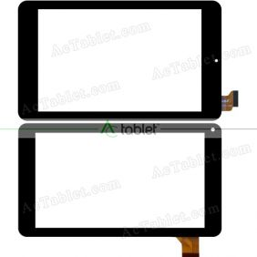 "Digitizer Touch Screen Replacement for PendoPad 7"" PNDP60M7BLK Quad Core Black 7 Inch Tablet PC"