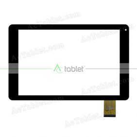 Digitizer Touch Screen Replacement for Sunstech TAB100BT16GB3G Quad Core 10.1 Inch Tablet PC