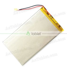 "Replacement Battery for Hipstreet 10.1"" Phoenix Quad Core HS-10DTB12-16GB Tablet PC 3.7V"
