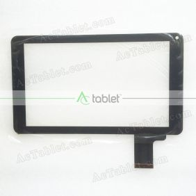 Replacement Touch Screen for Supersonic Matrix MID SC-999BT Quad Core 9 Inch Tablet PC