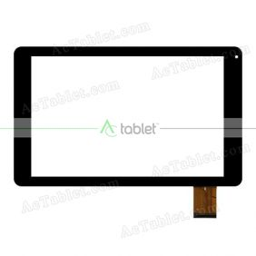 Digitizer Touch Screen Replacement for Blaupunkt Atlantis 1010A MTK8321 Quad Core 10.1 Inch Tablet PC