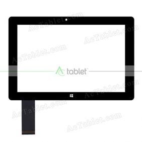 Digitizer Touch Screen Replacement for Smartab STW1050 Atom X5 Z8350 10.1 Inch Windows Tablet PC