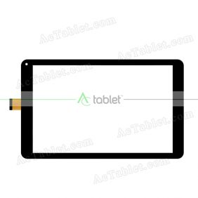 Digitizer Touch Screen Replacement  for Yuntab A108 10.1 Inch Allwinner A64 Quad Core Tablet PC