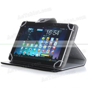Leather Case Cover Stand for Lectrus LECT-TAB1011 10 inch 3G Quad Core Phablet Tablet PC