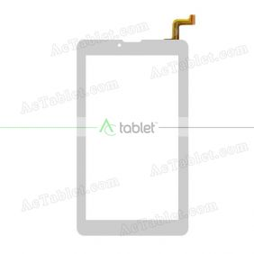 RP-522A-7.0-FPC-LK706-4G-A1 Digitizer Glass Touch Screen Replacement for 7 Inch MID Tablet PC