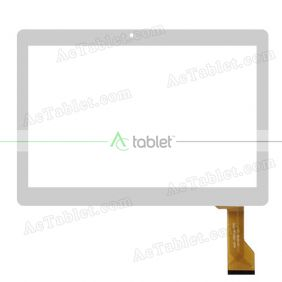 MJK-0591Q FPC Digitizer Glass Touch Screen Replacement for 10.1 Inch MID Tablet PC