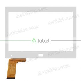 TCLCTP-10905 2016.05.04 Digitizer Glass Touch Screen Replacement for 10.1 Inch MID Tablet PC