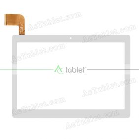 MJK-0995-FPC/2018.05 FLT Digitizer Glass Touch Screen Replacement for 10.1 Inch MID Tablet PC