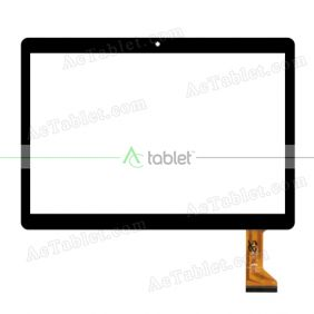 XHSNM1003304BV0 Digitizer Glass Touch Screen Replacement for 9.6 Inch MID Tablet PC