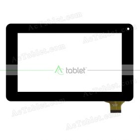 MTCTP-317 Digitizer Glass Touch Screen Replacement for 7 Inch MID Tablet PC