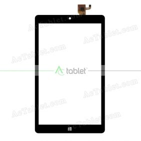 HK80DR2781 Digitizer Glass Touch Screen Replacement for 8 Inch MID Tablet PC