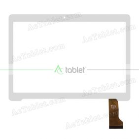 YTG-G97031-F1 V1.0 Digitizer Glass Touch Screen Replacement for 9.6 Inch MID Tablet PC