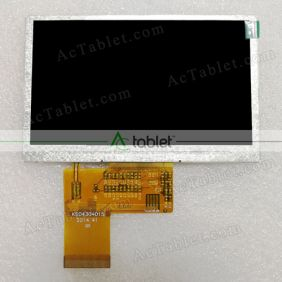 Replacement HSD4304015 LCD Screen for 4.3 Tablet PC