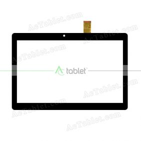 Digitizer Glass Touch Screen Replacement for Laser MID-1090 Quad Core 10.1 Inch Tablet PC