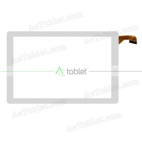 MJK-1160-FPC Digitizer Glass Touch Screen Replacement for 10.1 Inch MID Tablet PC