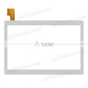 MJK-1012-FPC FLT Digitizer Glass Touch Screen Replacement for 10.1 Inch MID Tablet PC
