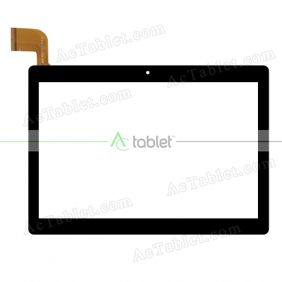 MJK-0955-V-FPC Digitizer Glass Touch Screen Replacement for 10.1 Inch MID Tablet PC