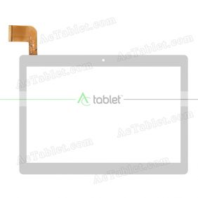 MJK-1053-FPC Digitizer Glass Touch Screen Replacement for 10.1 Inch MID Tablet PC