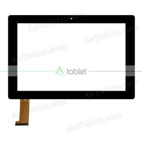 CY101J152-00 Digitizer Glass Touch Screen Replacement for 10.1 Inch MID Tablet PC