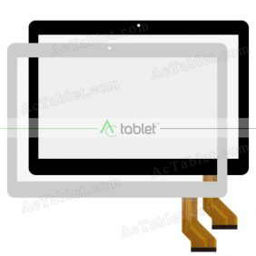 GT10JTY131 V2.0 Digitizer Glass Touch Screen Replacement for 10.1 Inch MID Tablet PC