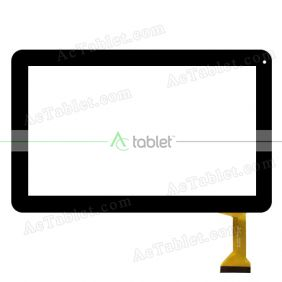 Digitizer Touch Screen Replacement  for iView 1060TPCKBL 1060TPCKBK 10.1 Inch  Tablet PC