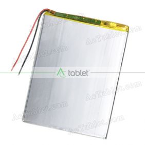 Replacement Battery for Alldaymall A10X 10.1 Inch Quad Core Tablet PC