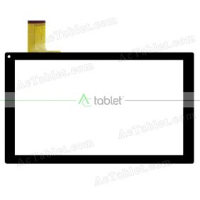 Digitizer Touch Screen Replacement for Blaupunkt Endeavour 101L 10.1 Inch Tablet PC