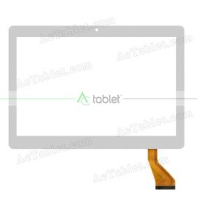 Digitizer Glass Touch Screen Replacement for Bangho Aero 10 Gris Quad Core 10.1 Inch Phable Tablet PC