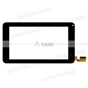 YJ739FPC-V0 SR Digitizer Glass Touch Screen Replacement for 7 Inch MID Tablet PC