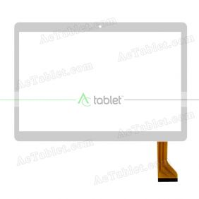 HN 0933-FPC D26XR14 Digitizer Glass Touch Screen Replacement for 9.6 Inch MID Tablet PC